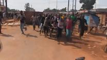Demonstration turns violent in Central African Republic