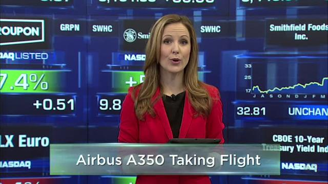 Fed Reportedly Seeks to Calm Market; Airbus vs. Boeing Rivalry Soars to New Heights