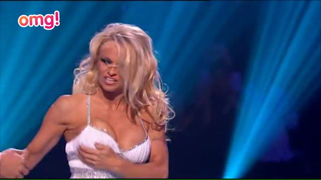 Pamela Anderson's out of Dancing On Ice
