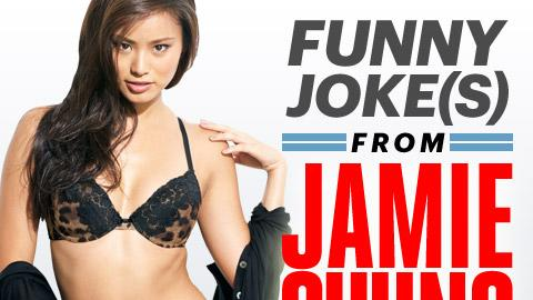 Jamie Chung: Funny Joke from a Beautiful Woman