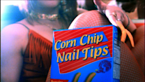 Corn Chip Nail Tips