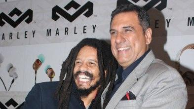 Boman Irani and Rohan Marley in support of 'The Light of Life'