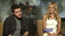 "Stars Of ""Transformers 4"" Talk About Getting Their Roles"