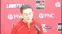 Raw video: Rick Pitino talks about NCAA tourney