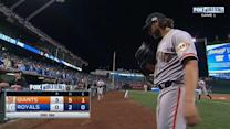 Bumgarner escapes trouble