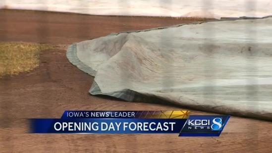 Iowa Cubs keep close eye on opening day forecast
