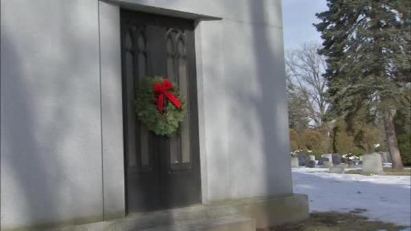 Bronze doors stolen from Upper Darby cemetery