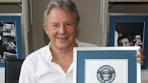 Coronation Street's Philip Lowrie accepts Guinness World Record