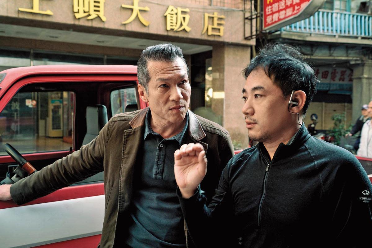 蕭雅全認為黃仲崑(左)有一種牛仔氣質,因此選他當男主角。(積木影像提供)