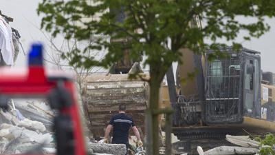Raw: Deadly French Building Collapse