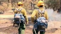 Evacuations continue from Southern California wildfire