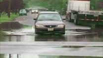 Torrential rains cause flooding in New Jersey