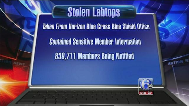 800,000 in danger of ID theft after laptop theft