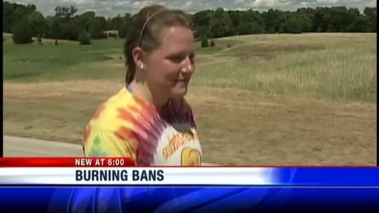Growing number of burn bans in place