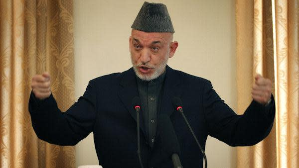 Karzai: Afghan troops take lead to secure country