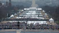 Thousands Gather in DC for 45th Presidential Inauguration