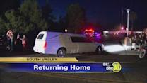 Returning home after a weekend tragedy in Las Vegas