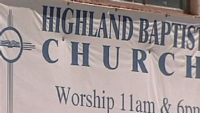 Police: Man Touched Self Outside Church