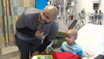 Carlos Boozer and Quentin Richardson bring smiles to kids' faces