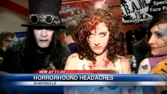 Horror convention opening night more popular than expected