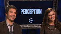 Eric McCormack And Rachael Leigh Cook Talk TNT's 'Perception'