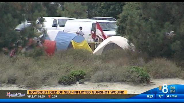 Boy Scout died of self-inflicted gunshot wound