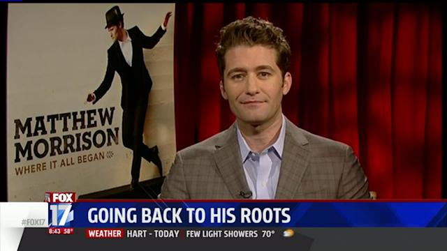 Glee Star Returns to Roots With Broadway Songs