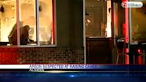 Arson suspected at popular chain restaurant