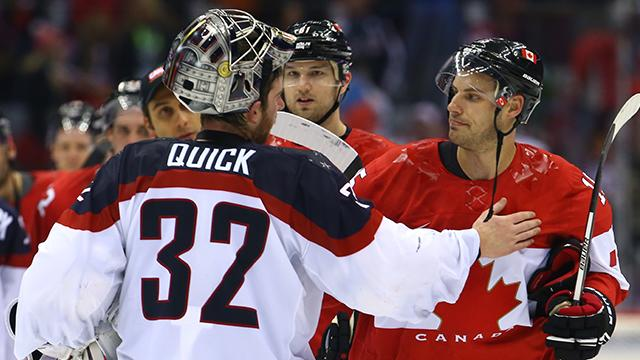 Team USA and Canada react to another 1-goal contest