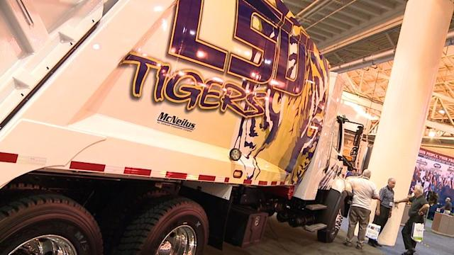 Waste Expo in New Orleans Exhibits Personalized Trucks