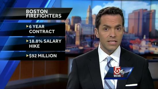 Boston firefighters expected to ratify 6-year contract