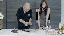 Jade Seah and Chef Benny show how easy it is to make chilli crab