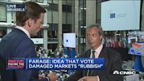 Farage: No one will believe the polls again