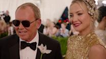 Michael Kors and Kate Hudson at the Met Gala 2015