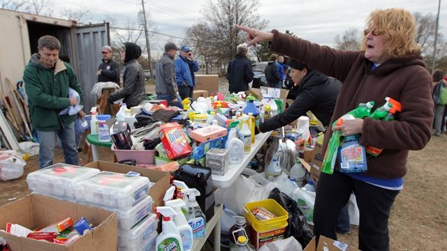 Help pours in to assist those hard hit by Sandy