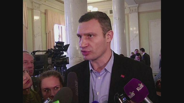 I will run for president in Ukraine - Klitschko