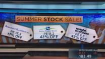 Summer stock bargains