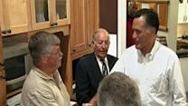 Raw Video: Romney visits small business