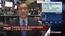 Positive read on wholesale inventories