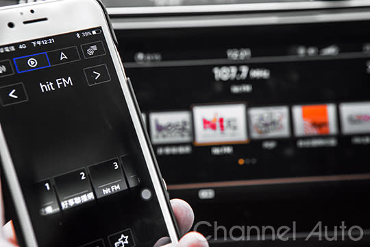 藉由Media Connect App的連線,各種手機常用功能都可直接在9.2吋觸控螢幕上操作。