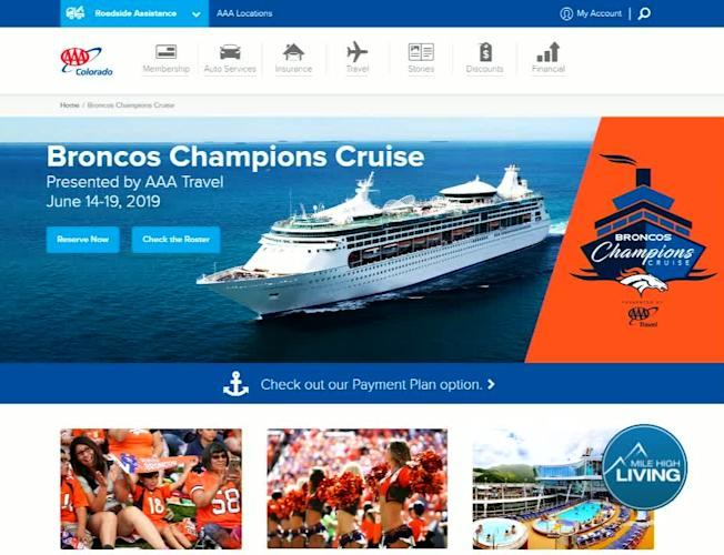 AAA: Broncos Champions Cruise Presented by AAA Travel