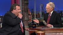 Chris Christie Explains His Fat Jokes on Letterman