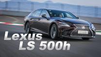 匠心細膩 自駕不凡 Lexus LS 500h|海外新車試駕
