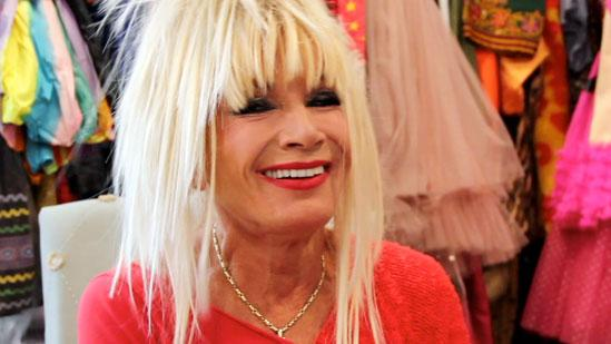 Doing Splits With Betsey Johnson