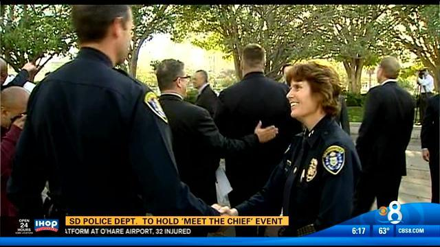 San Diego Police Department to hold