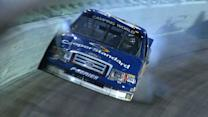 Blaney scrapes wall with Busch in pursuit