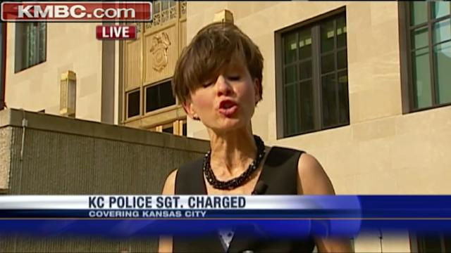 KC police sergeant charged with stealing from mom