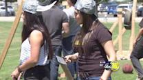"Merced College students learn to ""siege the day"""