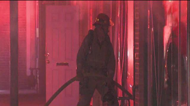 Tulsa business damaged during intense fire near Admiral and Lewis