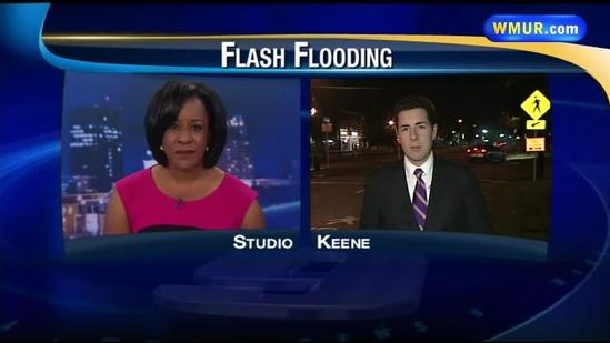 Rain brings more flooding to Keene